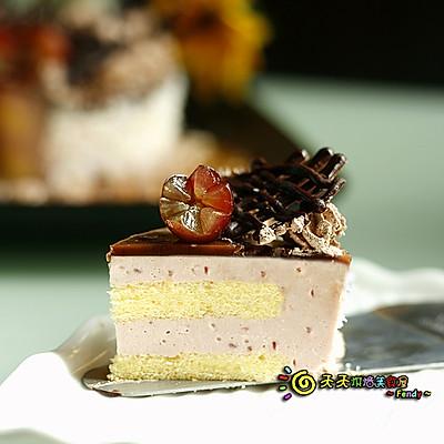 【免烤芝士蛋糕】——覆盆子芝士慕斯