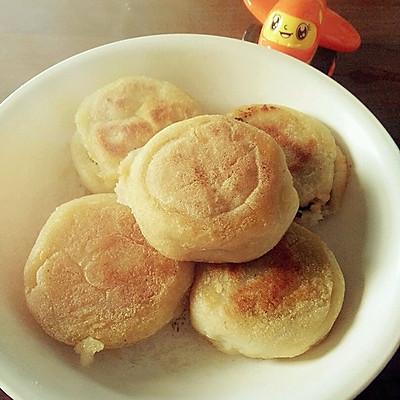 儿时的记忆——农村大锅版糯米咸菜饼