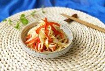红椒炒茭白(减脂瘦身菜)#安佳幸福家常菜#的做法