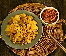 土豆拌茄子(附鸡蛋酱做法)的做法