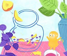 【手绘食谱】紫苏桃子姜 让夏日的味蕾急速分泌唾液 ~的做法