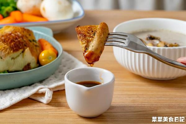 香煎菇扒|鲜美多汁