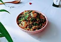 虾仁青菜豉油饭的做法