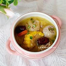 #我们约饭吧#玉米鸡汤煲