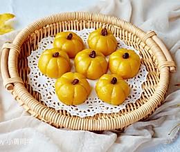 Q萌的栗子南瓜饼#KitchenAid的美食故事#的做法