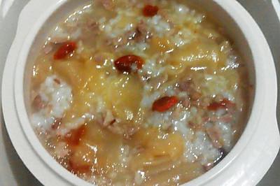 每日一粥: 秋冬季鳕鱼胶粳米粥