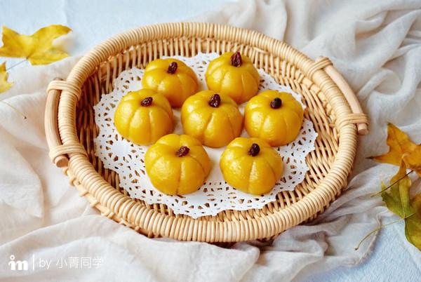 Q萌的栗子南瓜饼的做法