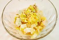 宝宝辅食(高汤娃娃菜炖豆腐)的做法