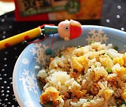黄金咖喱炒饭的做法