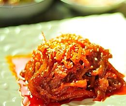韩式辣炒鱿鱼丝的做法