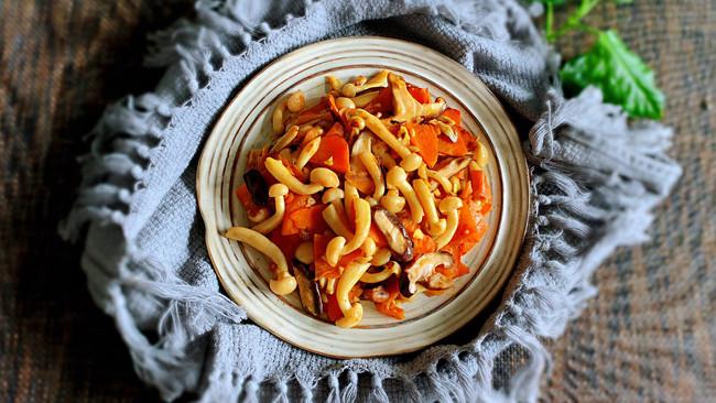 菌菇胡萝卜的做法