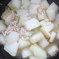 虾米冬瓜 减肥利器的做法图解3