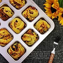 肉松海苔色拉小餐包