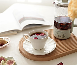 疏肝解郁陈皮玫瑰红茶的做法