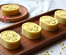#童年不同样,美食有花样# 蜂蜜绿豆糕的做法