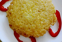 香煎鸡蛋米饼的做法