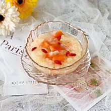 甜甜糯糯的木瓜银耳羹,温暖直入心田#餐桌上的春日限定#