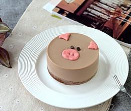 4寸小猪慕斯蛋糕的做法