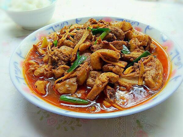 姜丝鸭肉的做法