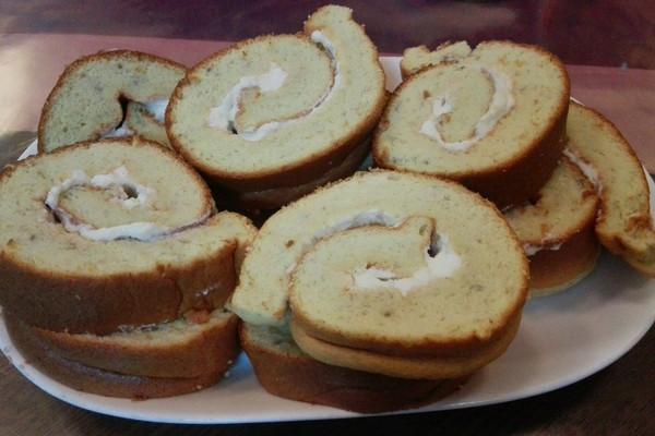 香蕉蛋糕卷的做法