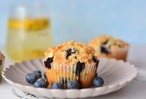 金顶酥粒蓝莓马芬的做法
