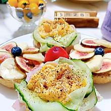 #我們約飯吧#開放式三明治