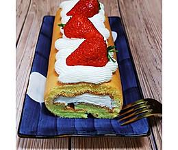 卷不裂的草莓奶油蛋糕卷,蛋糕不破不裂,松软湿润,新手零失败!的做法