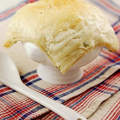 鲜蘑海鲜葱香酥皮汤