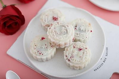 玫瑰山药豆沙糕