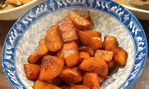少油版红烧胡萝卜的做法