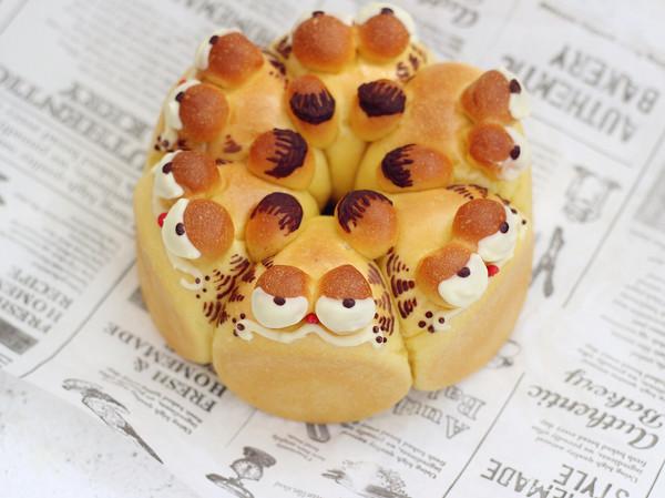 加菲猫胡萝卜面包的做法