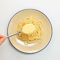 奶酪培根意面——迷迭香的做法图解6