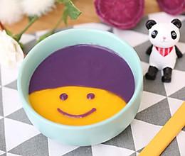 宝宝辅食食谱  南瓜紫薯米糊的做法
