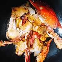 香辣梭子蟹烩年糕的做法图解21