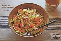 烤地瓜沙拉#憋在家里吃什么#的做法