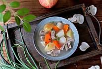 海底椰炖苹果雪梨汤的做法
