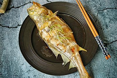 葱香黄花鱼
