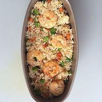鲜虾芝士焗饭#豆果魔兽季部落#的做法图解6
