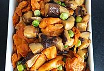 鸡胸肉炒香菇的做法