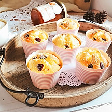 椰蓉蔓越莓玛芬纸杯蛋糕 快手早餐下午茶#相约MOF#