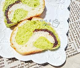 双色哈斯面包的做法