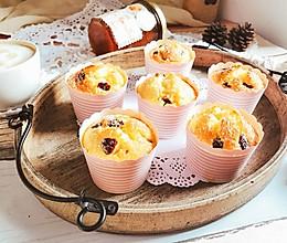 椰蓉蔓越莓玛芬纸杯蛋糕 快手早餐下午茶#相约MOF#的做法
