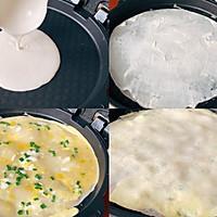 快手早餐:葱花鸡蛋饼的做法图解3