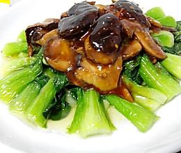 香菇油菜(家常菜版)的做法