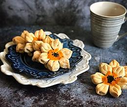 #馅儿料美食,哪种最好吃#山楂馅葵花酥的做法