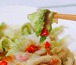 蚝油生菜│脆爽可口的做法