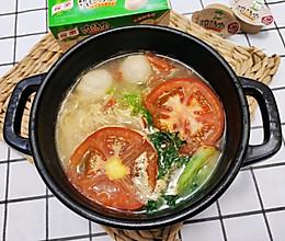 #我们约饭吧#西红柿面的做法