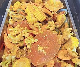 一道特费米饭的印尼巴东酱海鲜的做法