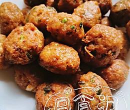 #中秋团圆食味#酥炸莲藕丸子的做法