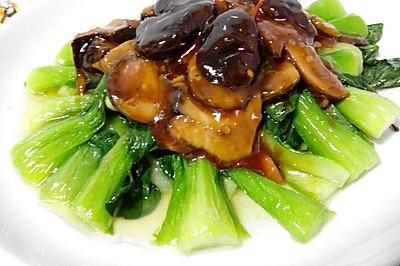香菇油菜(家常菜版)